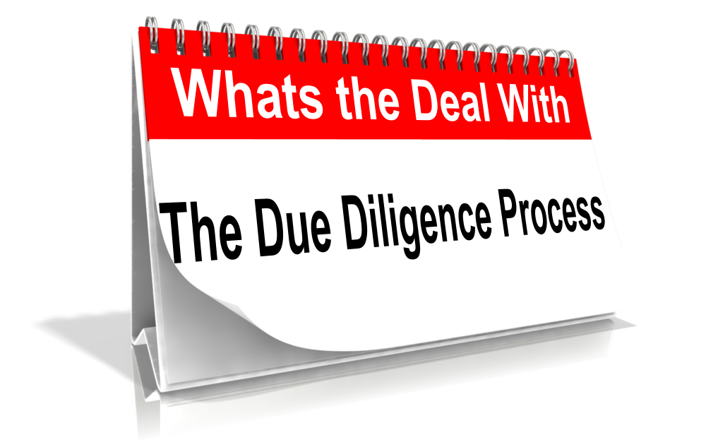 The Due Diligence Process