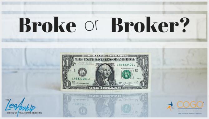 Broke or Broker?