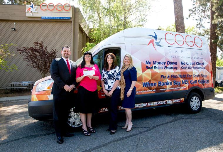 COGO Capital employees raised $1,240 for Make-A-Wish Idaho