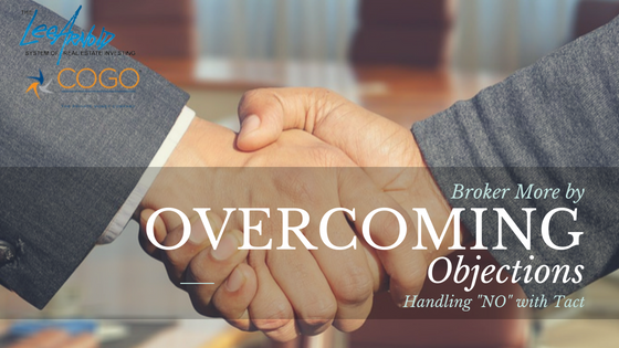 Broker More by Overcoming Objections