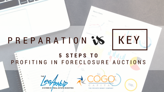 5 Steps to Profiting in Foreclosure Auctions