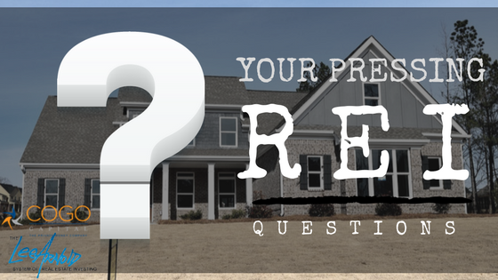 Your Pressing Real Estate Questions