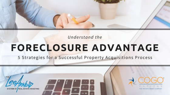 The Foreclosure Advantage