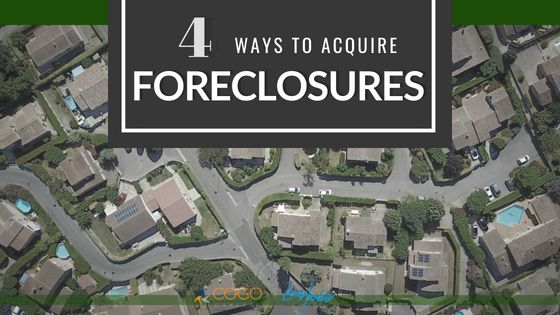 4 Ways to Acquire Foreclosures