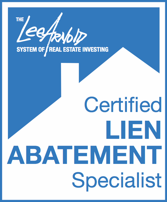 The Lee Arnold System Lien Abatement Specialist Certification