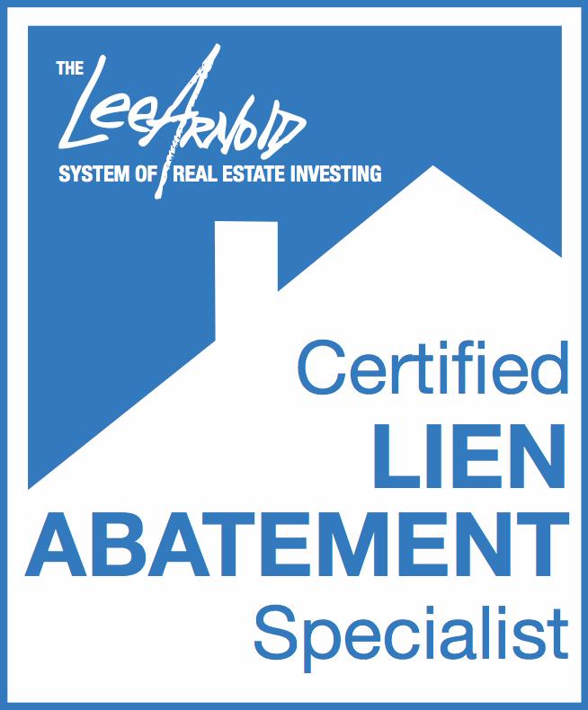 The Lee Arnold System Lien Abatement Specialist Certification